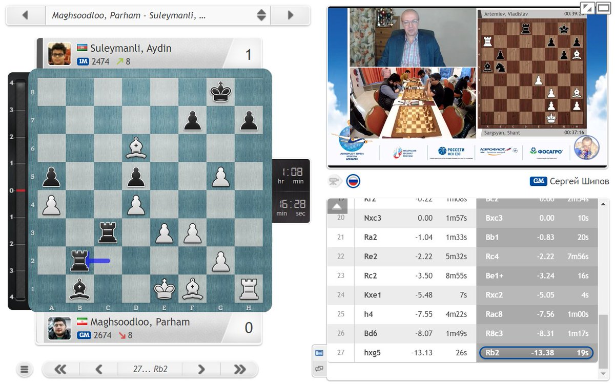 test Twitter Media - 14-year-old Aydin Suleymanli wins a 3rd game in a row and is likely to go into tomorrow's last round of the #AeroflotOpen tied for the lead! https://t.co/K61sTbYFP8  #c24live https://t.co/6tMmbIxCp1