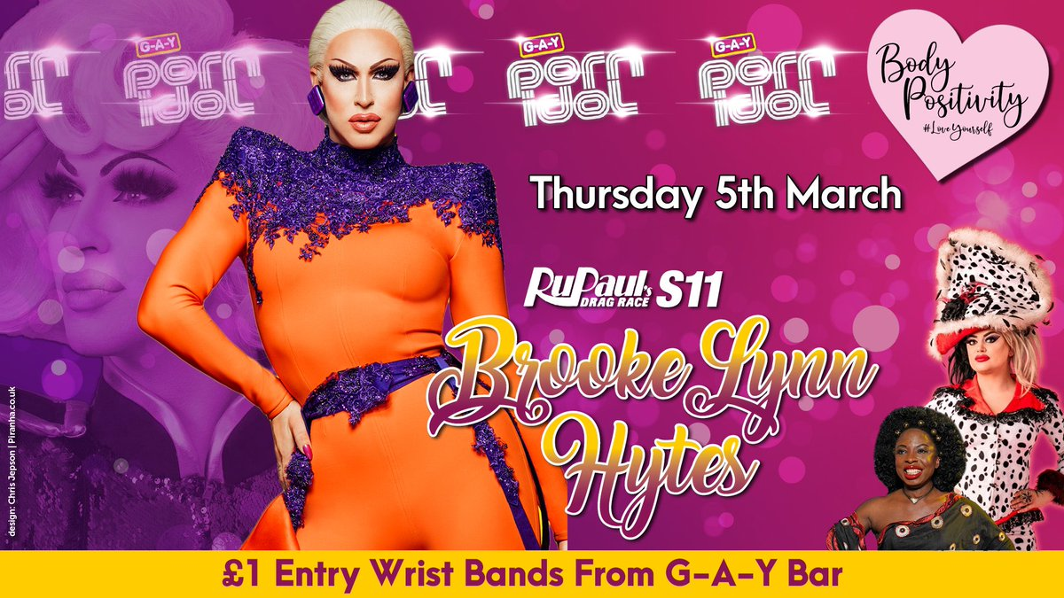 It's the way @Bhytes1 feeling,  @ChipShopBird just can't deny,  But @SonofaTutu gotta let it go  We found love at G-A-Y Porn Idol  We found love 8 Days Time  We found love Thurs 5th March  Shine a light through open door  & Msg info@g-a-y.co.uk To Strip  #DragRace #LoveYourself