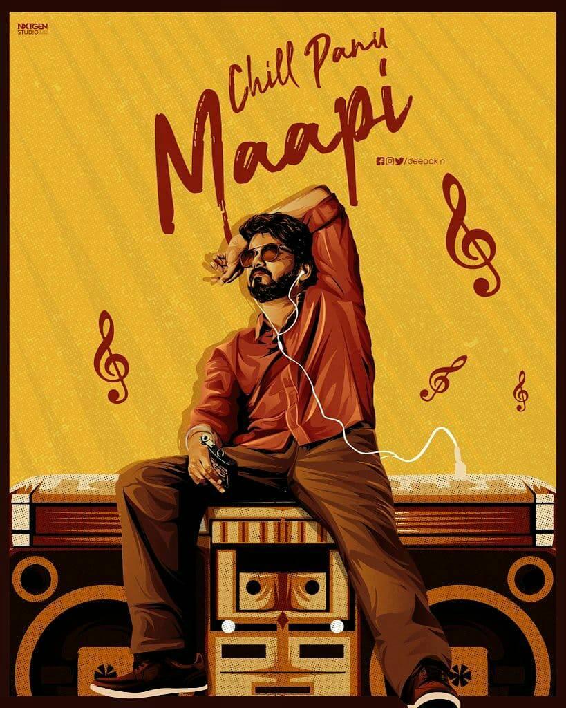 Chill Panu Maapi 🤗❤️ #Master  #KuttiStory Thalapathy @ActorVijay