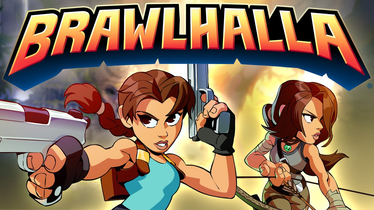 We're thrilled to be teaming up with our friends at Ubisoft to bring Lara to the world of @Brawlhalla!  Learn more at