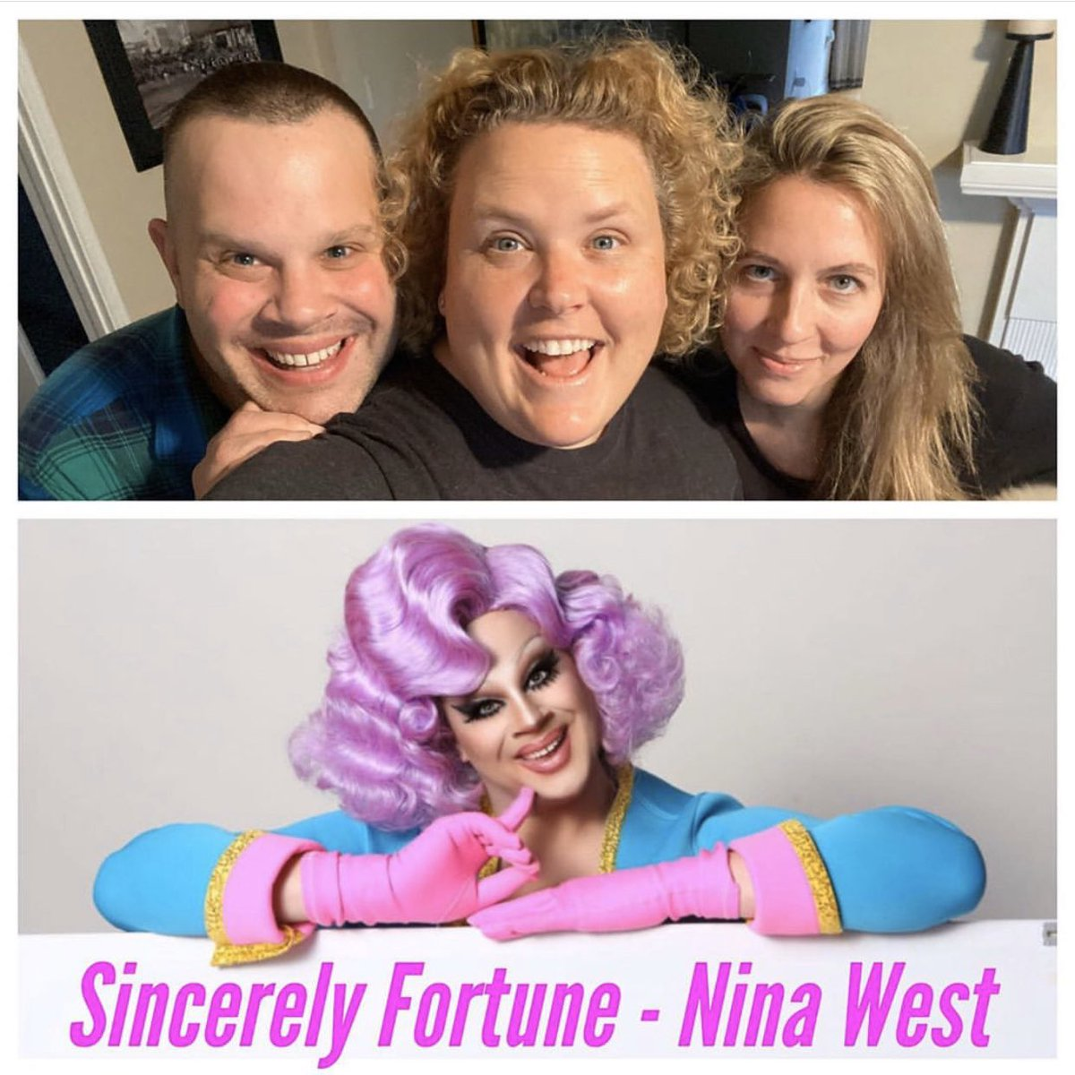 So thrilled to be able to sit and chat with @fortunefunny on her podcast SINCERELY, FORTUNE! Check it out here!