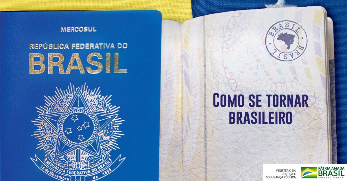 Em 2019, o MJSP realizou mutirão que reduziu de 500 para até 5 dias o período de análise de pedidos de naturalização brasileira feitos por cidadãos de outros países. 78% dos pedidos foram aceitos! Clique no link e entenda como a naturalização funciona: