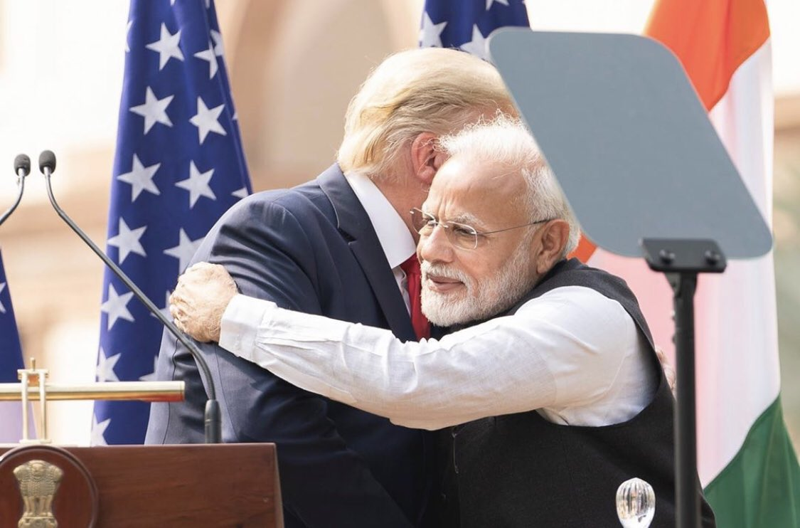 On our trip to India, @POTUS announced that @DFCgov will establish a permanent presence in India to strengthen our economic ties, improve development + further women's economic empowerment through #WGDP!