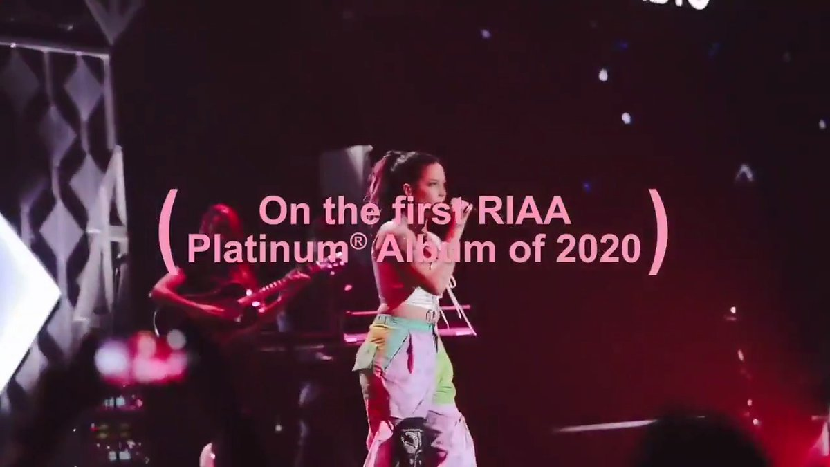 Thank you for making Manic the first release of 2020 to be certified RIAA Platinum 💿❤️