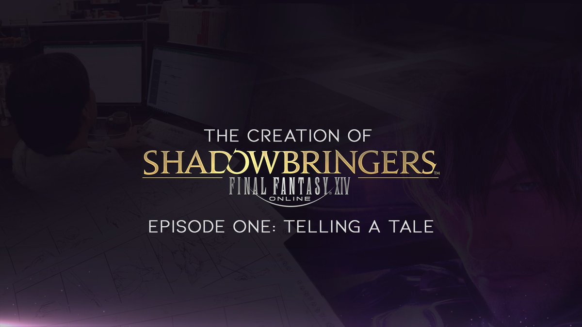 Presenting The Creation of #FFXIV Shadowbringers, a new 6-part dev diary series exploring the development of the game! Watch Episode One: Telling a Tale ▶️ featuring interviews with Yoshida, Oda, and Ishikawa!  📺