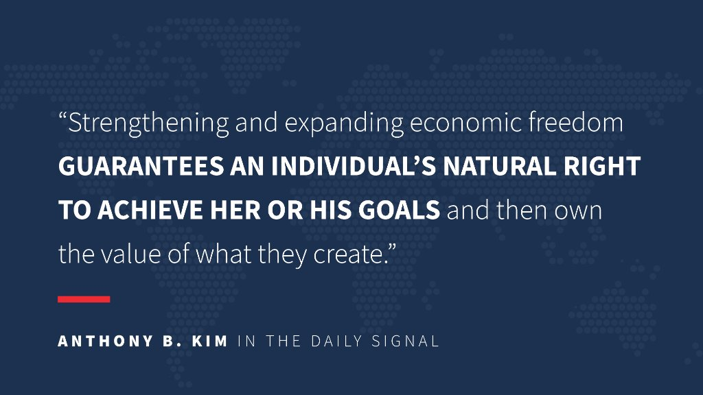 """Economic freedom and the empowerment of women """"go hand in hand,"""" writes Anthony B. Kim.  Through #WGDP, """"America has practical opportunities to help women become agents of real and measurable changes in their home countries.""""  News of the day:"""