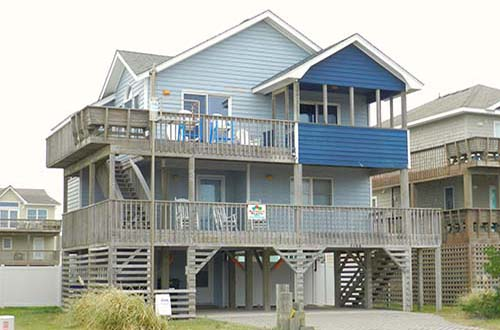 A family favorite!  Morgan's Sunrise boasts 5 star reviews and is just steps away from the ocean.  You'll have everything you need for an amazing vacation right here!     #beachhouse #summer2020 #obxvacation #ocean #views #pool #hottub #petfriendly