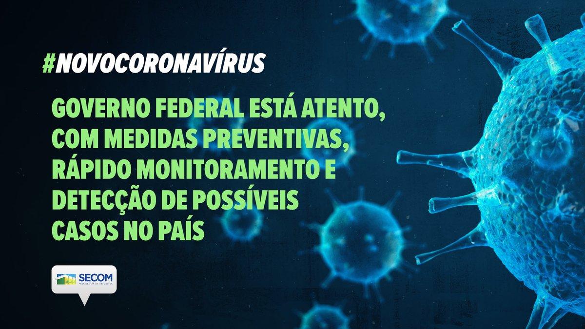 Nesta quarta-feira (26) o @MinSaude atualizou a situação do #NovoCoronavírus no Brasil. Foi confirmado o primeiro caso da doença no País. Entretanto, o ministro ressaltou que o Brasil está preparado para enfrentar o vírus.