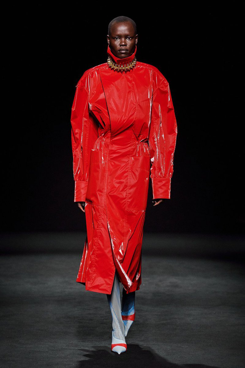 Completely living for the Mugler Fall 2020 Ready-to-Wear collection ❤️