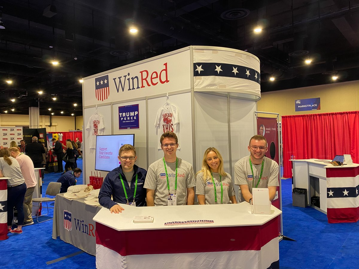 🚨ANNOUNCING WINRED TEAM PAGES🚨   WinRed is now open to any individual who wants to create a page and drive donations to their favorite candidates.  Build your slate and help your favorite candidates now>>   #WinRedTeamPages #CPAC2020