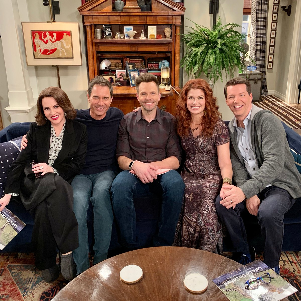 Welcome (back) to the #WillAndGrace family, @joelmchale! ❤️