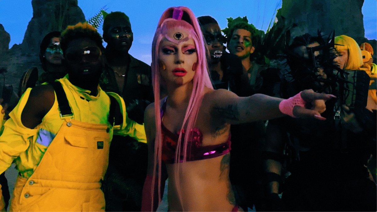 Daniel Askill the director of Sia's Chandlier directed Lady Gaga's brand new MV Stupid Love out tomorrow!