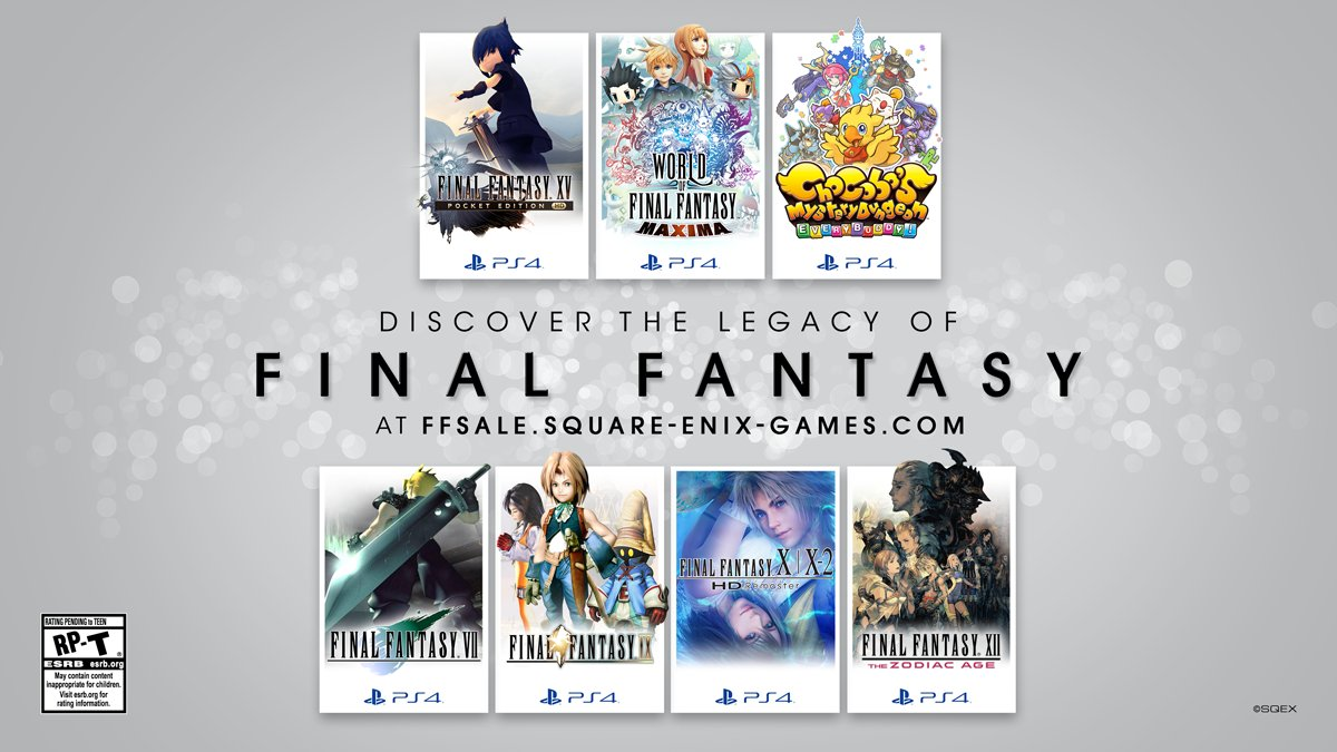 Save yourself a few Gil, with up to 50% off on #FinalFantasy titles on #PlayStation until 6th March!    Check out a few here! -