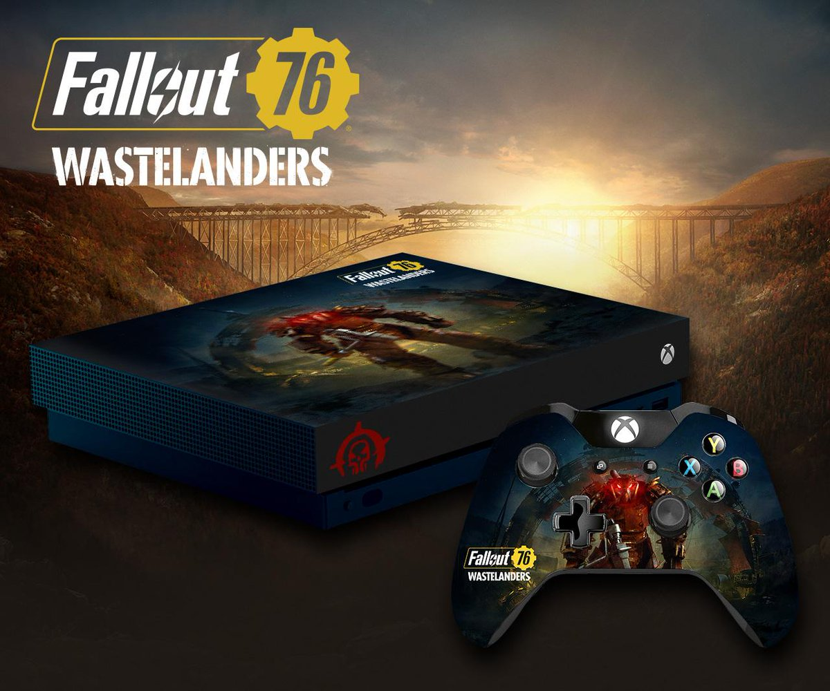 Not at #BethesdaGameDays? We still have something for you!  Follow @Fallout and RT this post for a chance to win a custom Xbox One X! Rules: