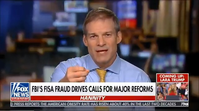 They spied on the Trump campaign in 2016.  We need to reform FISA so that they can't do it again in 2020.