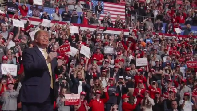 """NEW AD 📺  """"Stronger,"""" starts airing TODAY in Denver & Colorado Springs markets recapping our rally last week!   America is stronger today than ever before! 🇺🇸  WATCH BELOW:"""