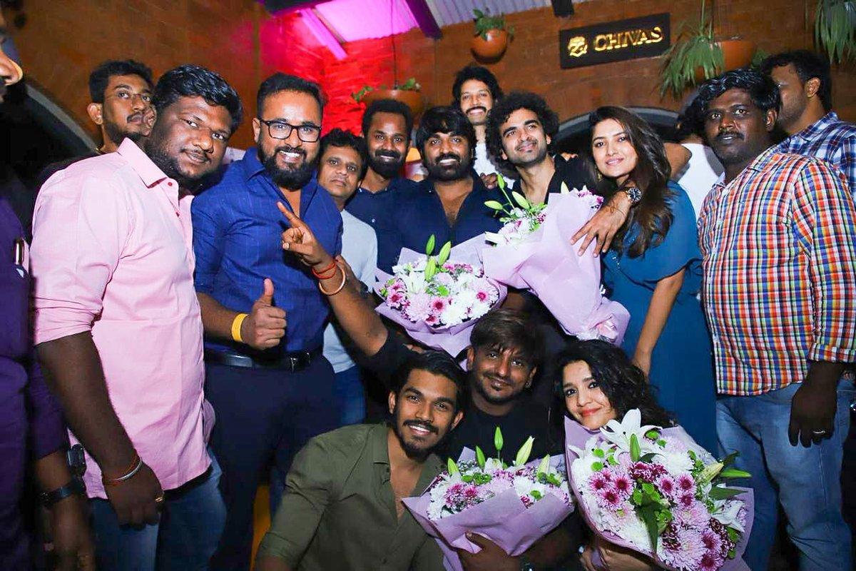 Team #OhMyKadavule celebrated the mega success with Makkal Selvan @VijaySethuOffl  @Dili_AFF @sakthivelan_b @abinaya_selvam @AshokSelvan @ritika_offl @vanibhojanoffl @leon_james @Dir_Ashwath