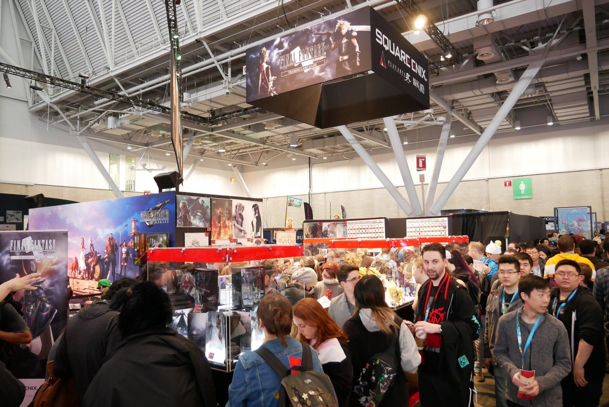 Our @SQEX_MD_NA team is offering up the latest merchandise and #FFTCG items at our #PAXEast2020 booth. Anything catch your eye?