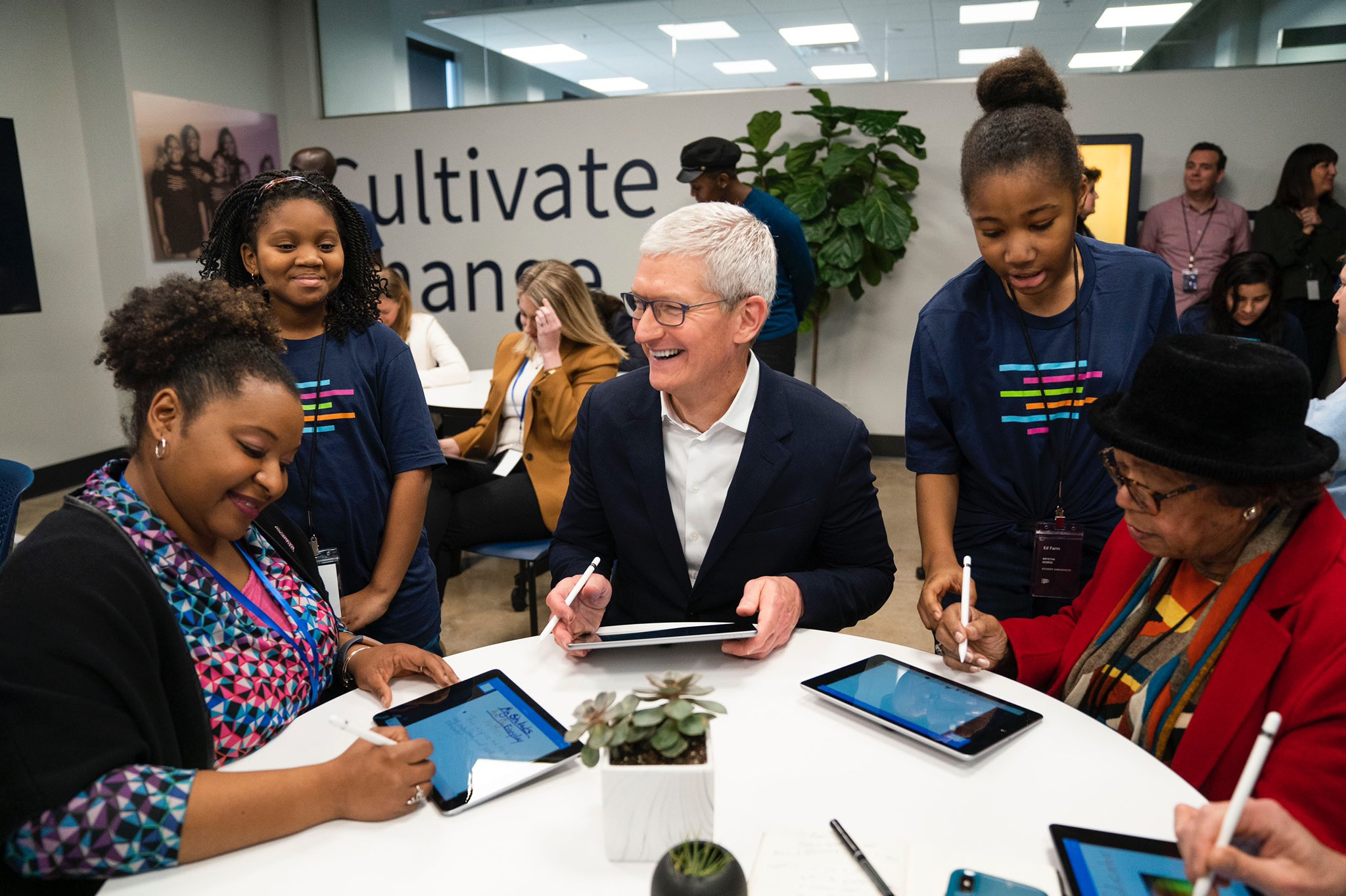 Coding lets students of all ages breathe life into new ideas, solve problems and prepare for the jobs of the future. Honored to join Birmingham's students, teachers and visionary leaders in opening Ed Farm — a new education hub where students can connect, learn and create! https://t.co/4tbnuwzI9K