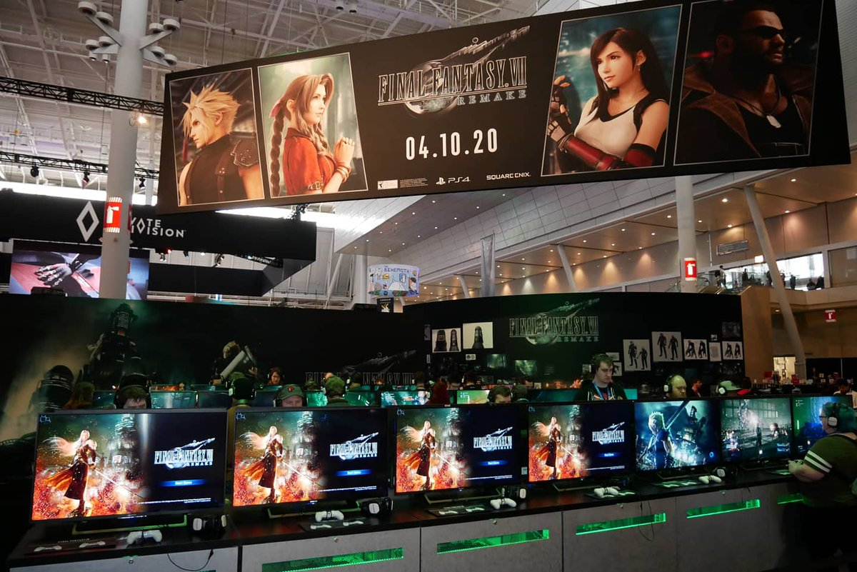 RT SquareEnix: Get your game on at our #PAXEast2020 booth #12011 with FF_XIV_EN and FinalFantasyVII Remake!     #finalfantasy #ff7