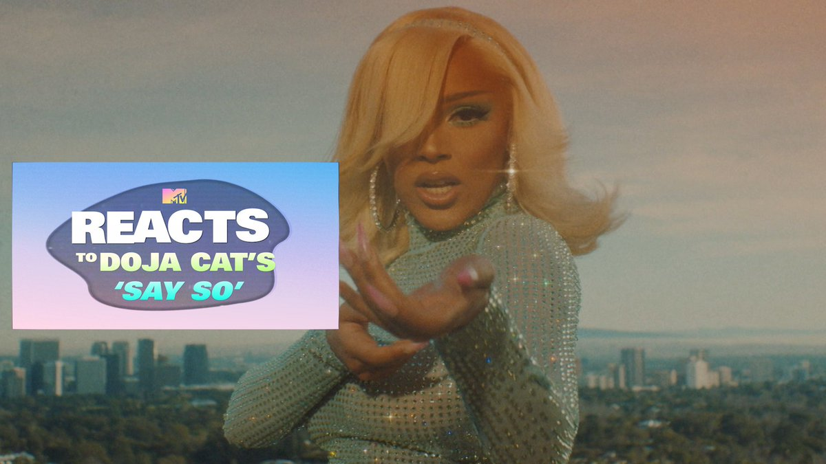 .@DojaCat's video for #SaySo IS HERE! 🔥  We put MTV employees on camera as they watched for the first time! Their reactions are 𝙋𝙍𝙄𝘾𝙀𝙇𝙀𝙎𝙎 and Doja is 𝙁𝙇𝘼𝙒𝙇𝙀𝙎𝙎. 🎥👀