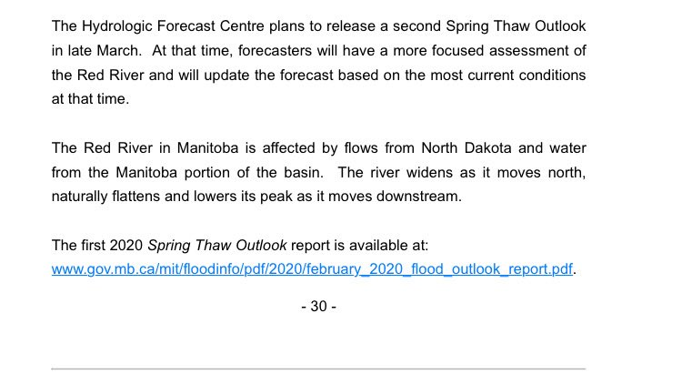 test Twitter Media - Province Releases First 2020 Spring Thaw Outlook https://t.co/nzDAIZcQXh
