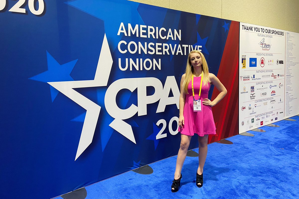 #CPAC2020 #infowars #Conservative #MillieWeaver