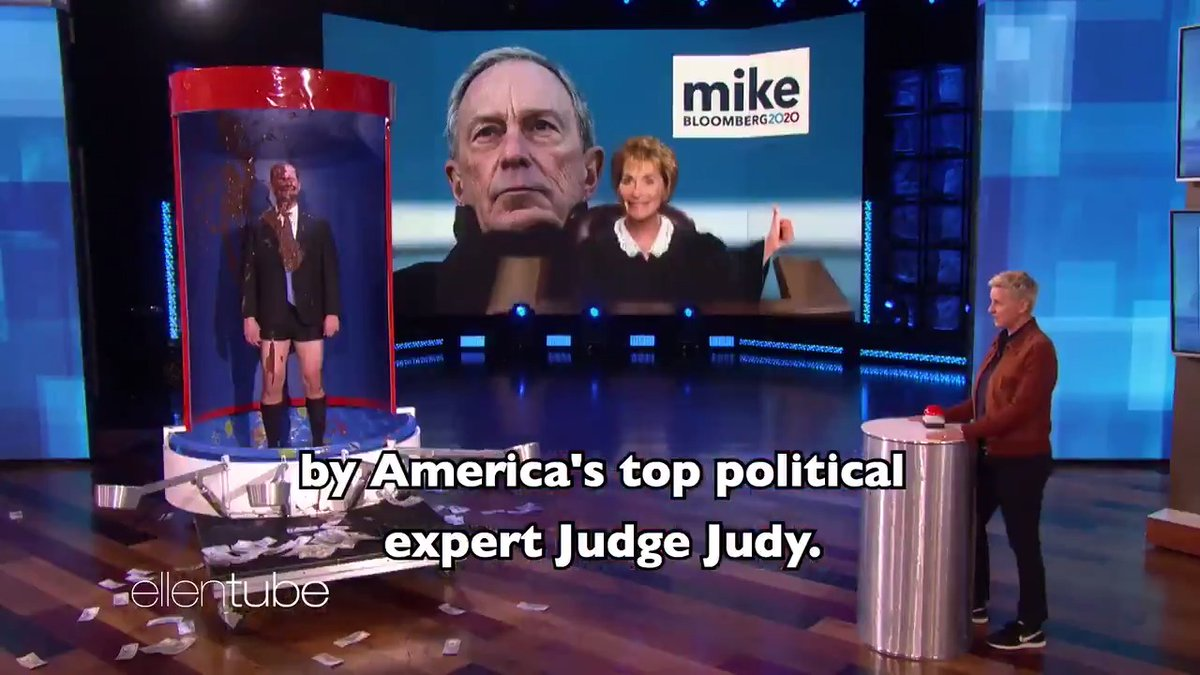 Wow. Political ads have gotten outta control. *This was not a real ad for Mike Bloomberg. It was actually an ad for pudding. Try some tonight!