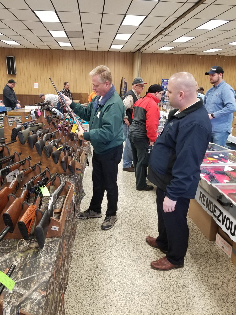 Stopped by the gun show in Hughesville over the weekend. I'll always fight to protect our 2nd Amendment rights!