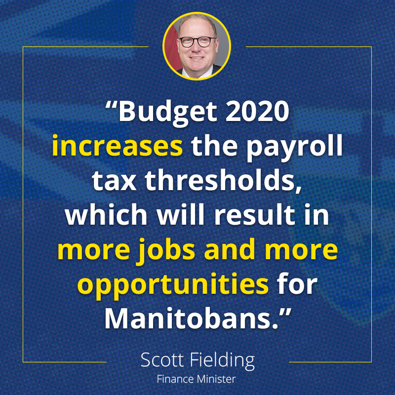 test Twitter Media - This is a needed change, since Manitoba's payroll tax thresholds have not changed since 2008.    https://t.co/atr89myTwm  #mbpoli #MovingManitobaForward https://t.co/wbQARd9dLF