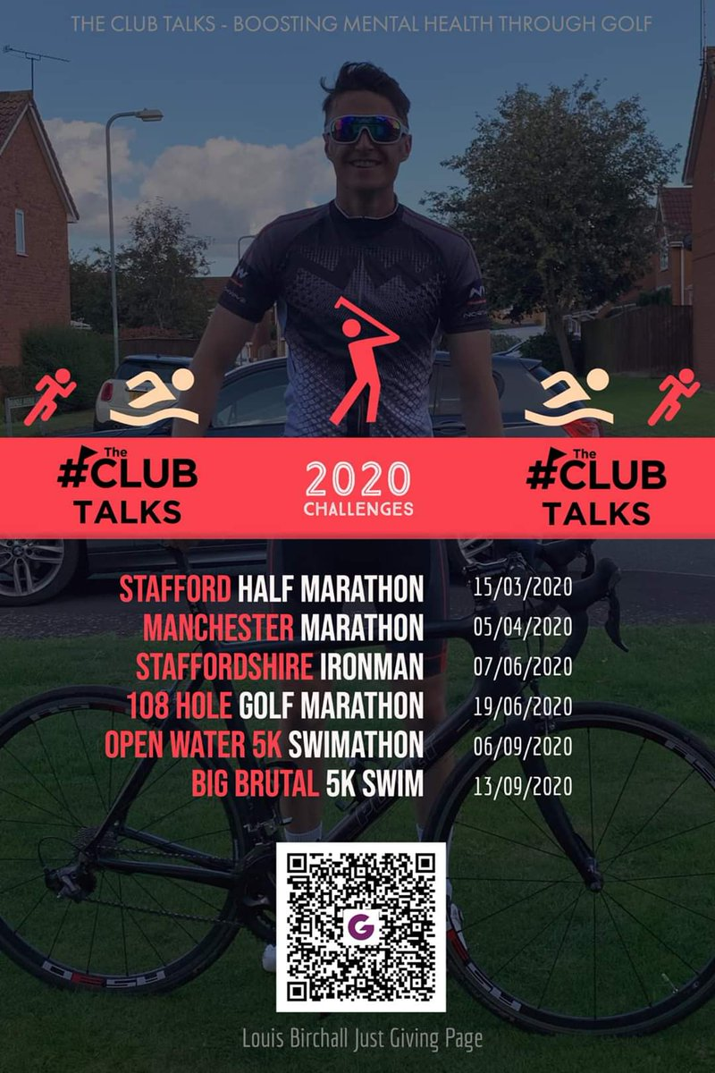 test Twitter Media - @LouisBirchall starts his insane challenges this Sunday, raising money > Captain's Charity @theclubtalks Tackling mental health with golf 💪 Show him your support & donate 🙌 @MidlandsGolfer @TheClub @ThePGA @ExpressandStar @StaffsNews @IPGCourseupdate  https://t.co/LZkeiNrA7f https://t.co/BZWKmYdgJs