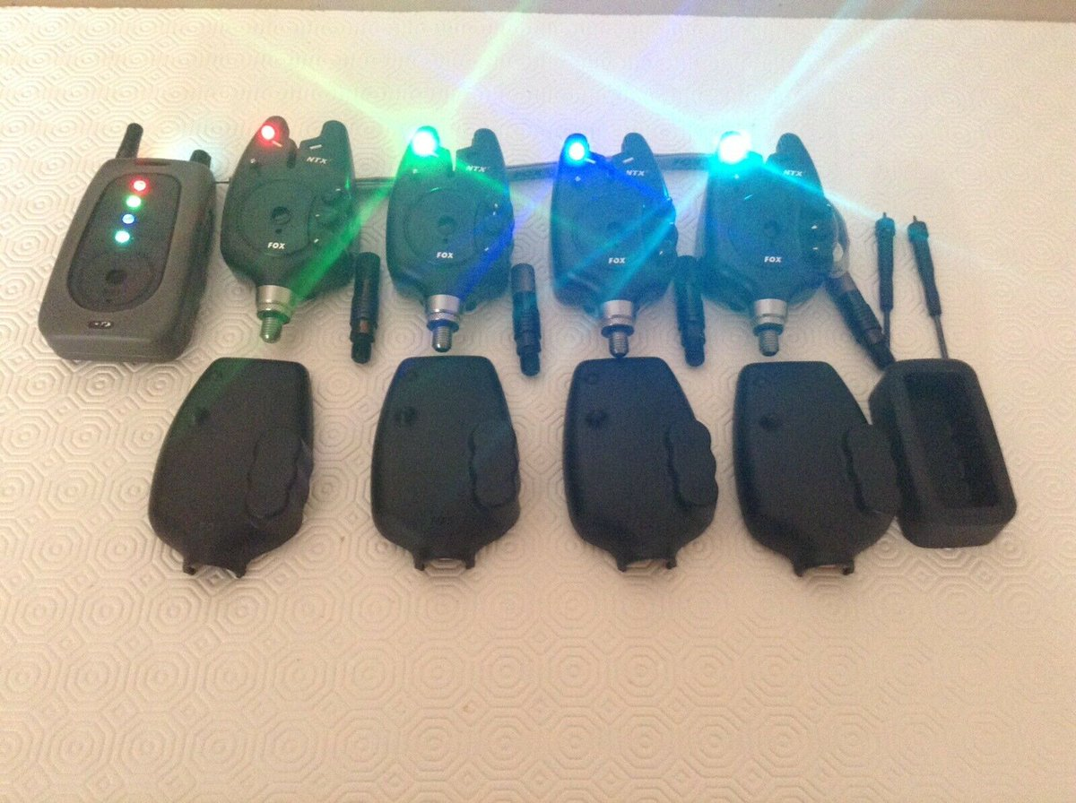 Ad - Fox NTXr Carp Fishing Bite Alarms And Receiver On eBay here -->> https://t.co/xEr6K0Y5qP