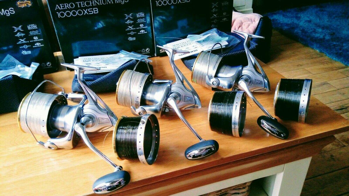 Ad - 3x Shimano Aero Technium MgS 10000XSB carp reels On eBay here -->> https://t.co/WsSY2Vd8X