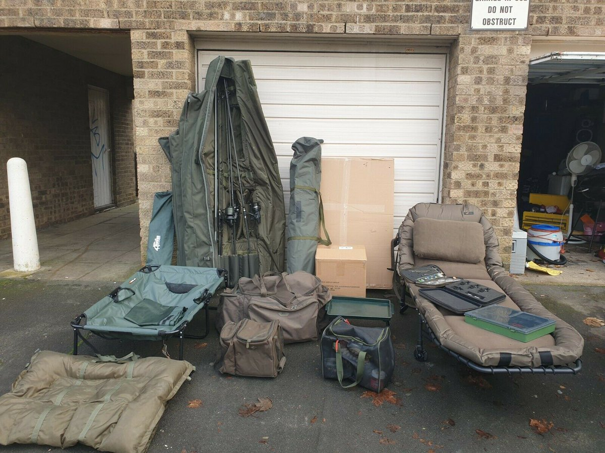 Ad - Full carp fishing <b>Set</b>-up for sale On eBay here -->> https://t.co/eYuXJgbY48  #carp