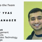 Please join us in welcoming Malav Vyas joining our team as the Event Manager. https://t.co/E0elWUDHED