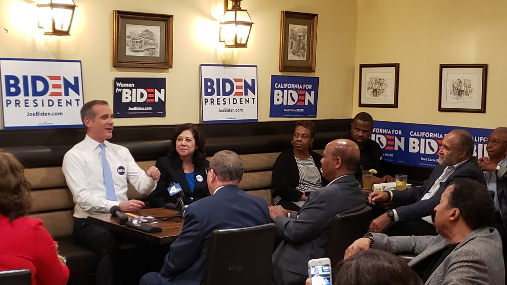 Progress isn't just about promises made. It's about promises kept. South LA knows @JoeBiden. The East side knows Joe Biden. And Joe Biden knows L.A. So let's get to the polls and deliver big for our next president!