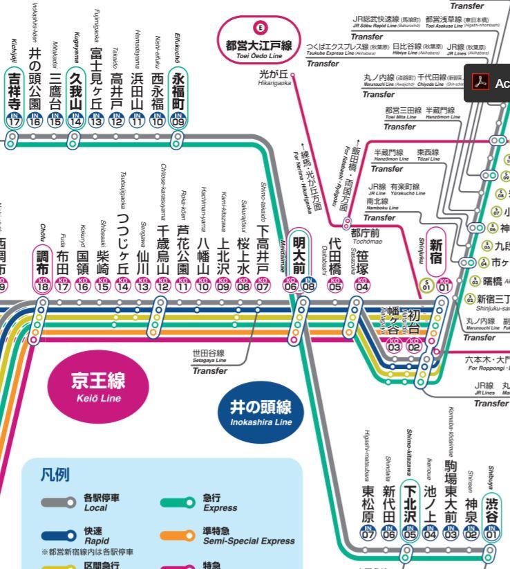 test ツイッターメディア - 【京王井の頭線】 全17駅。基本的に駅間距離が短い。 西武新宿線田無駅経由で西武池袋線東久留米駅まで延伸する計画があった。 線路わきにはアジサイ、サザンカ、ツツジなどが植えられている。 https://t.co/hc6xDKX76c