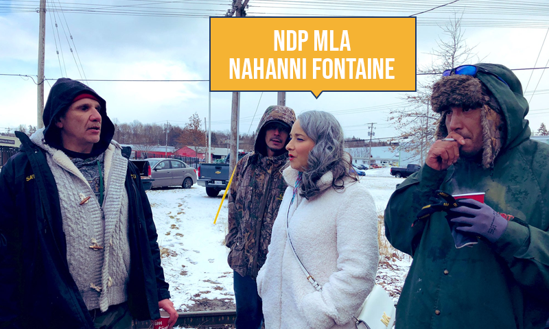 test Twitter Media - When given the choice to stand with law-abiding Canadians, or stand with those who are blocking highways and rail lines, Nahanni Fontaine chose the illegal blockades. #mbpoli https://t.co/QaHLK7Ay9g
