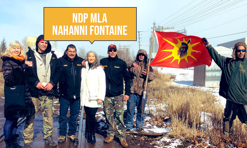test Twitter Media - Last week, as Canadians from coast to coast were feeling the harmful effects of the illegal rail blockades, NDP MLA Nahanni Fontaine travelled to Nova Scotia – to help block rail lines!   #mbpoli https://t.co/rnj3ZVuRdf