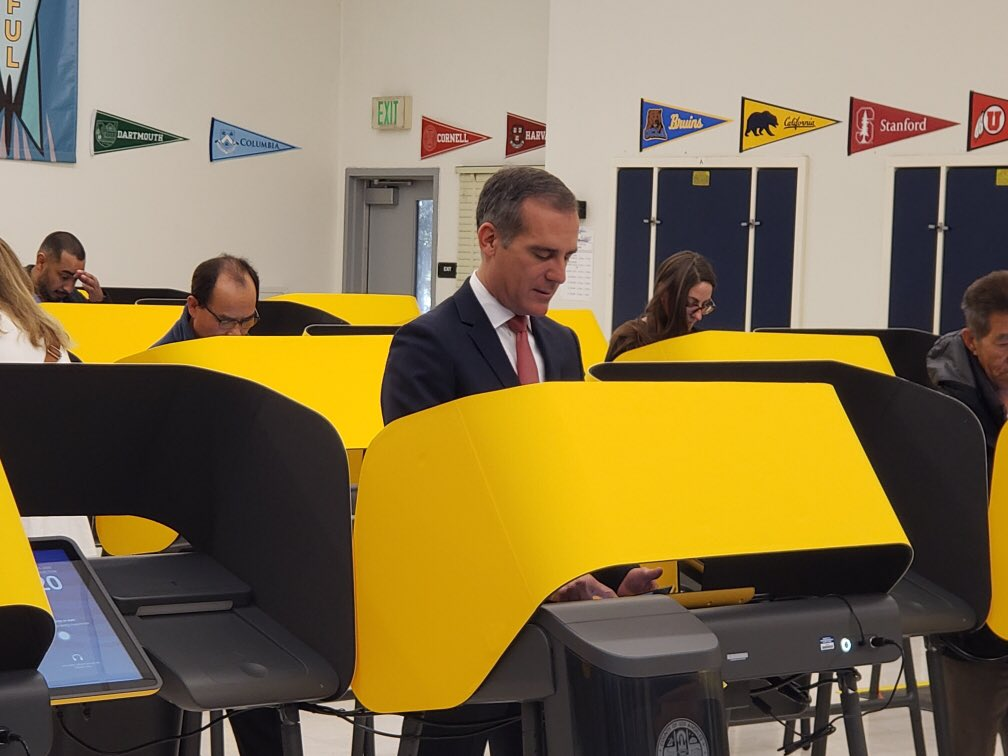 One of many, many votes for @JoeBiden today! Join us today at the polls!
