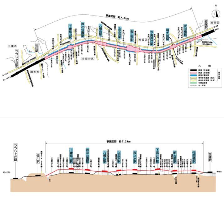 test ツイッターメディア - 【笹塚駅~仙川駅間連続立体交差事業】 駅施設を高架化する工事で、2022年度の完成を目指しているが多分遅れる。 八幡山駅は現在の駅設備の一部が流用される予定。 この工事と関連して明大前駅と千歳烏山駅の駅前広場が整備される予定。 https://t.co/UyWx5QISB6