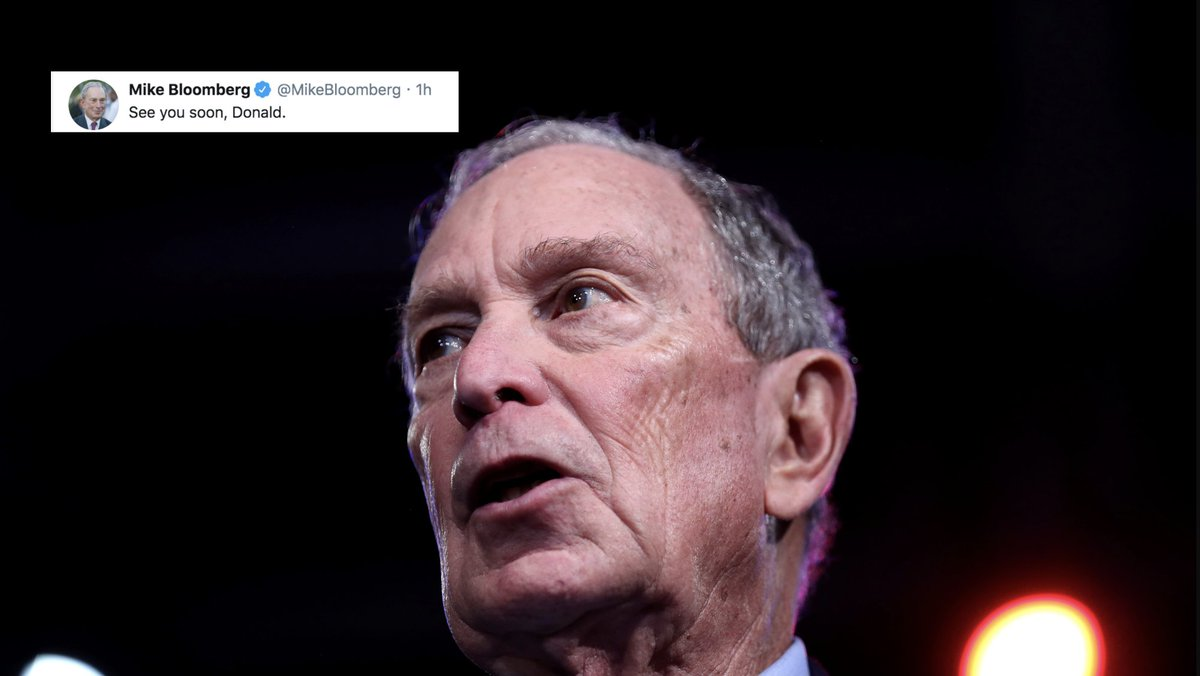 Bloomberg drops out and … challenges Trump to a lightsaber battle?
