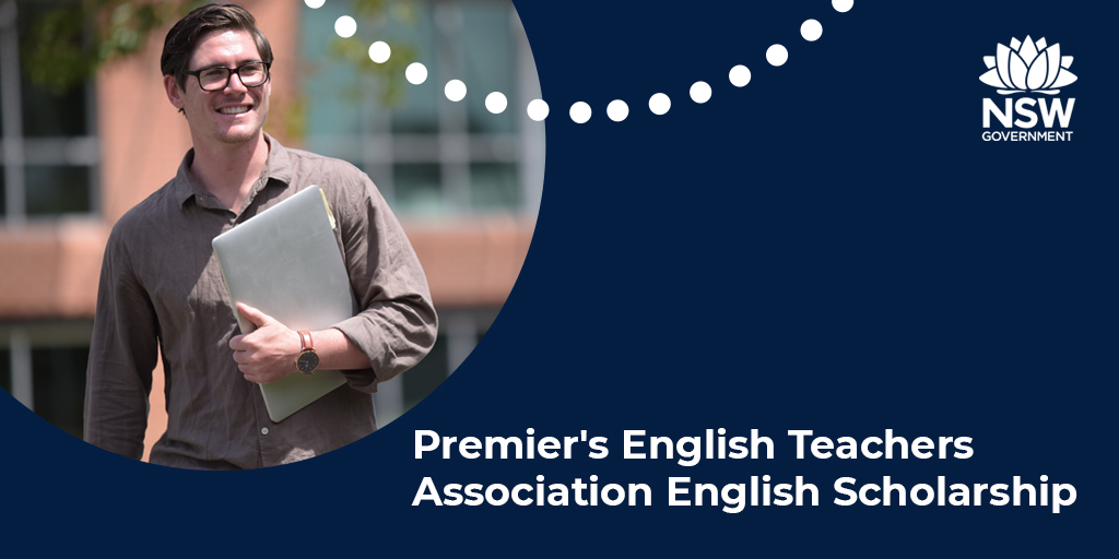 Current English teachers, explore new horizons with a Premier's English Teachers Association English Scholarship.  Applications are now open. To find out more and to apply, visit: https://t.co/PxasMfbxiF.  #teachNSW #PTS21 #explorenewhorizons https://t.co/Nv4aRM9qSt