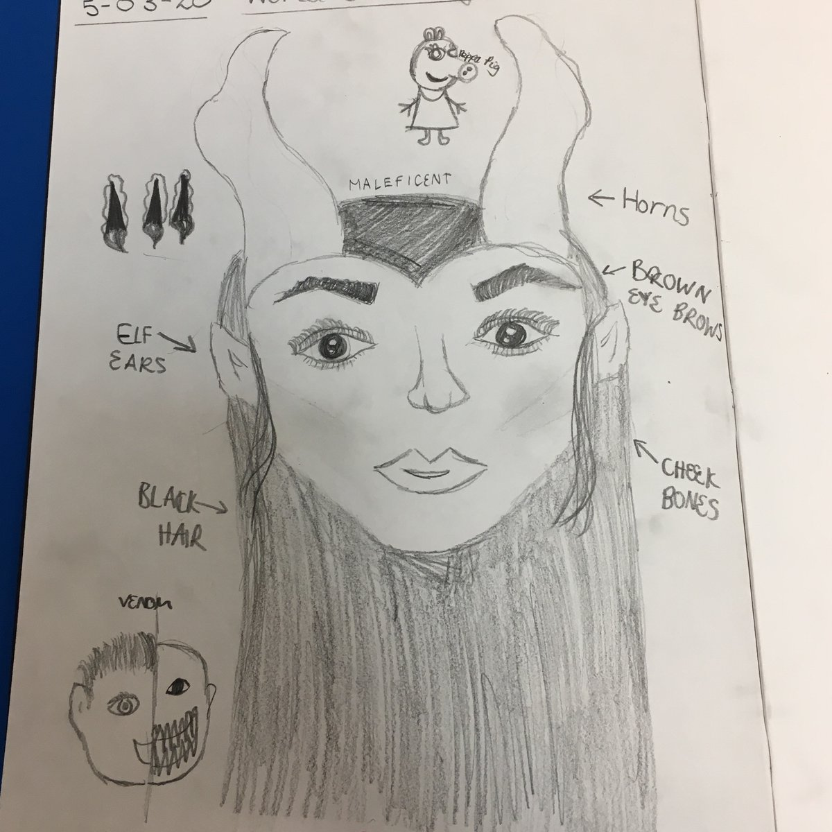 test Twitter Media - Year 6 sketched their World Book Day characters in their sketch books this afternoon. Can you work out who they came as? #WorldBookDay2020 #ShareAStory #readingispower https://t.co/wisj0mCzym