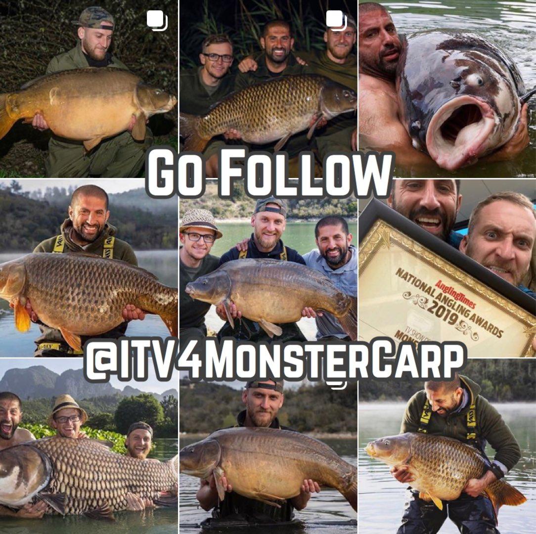 #GoFollowFriday Monster Carp  ➡️ @ITV4MonsterCarp ⬅️   #MonsterCarp #ITV #Carp #CarpFishing