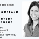 Please join us in welcoming Michelle Hofland as she joins our leadership team as the VP–Content Management! https://t.co/YjfeOzuzQg
