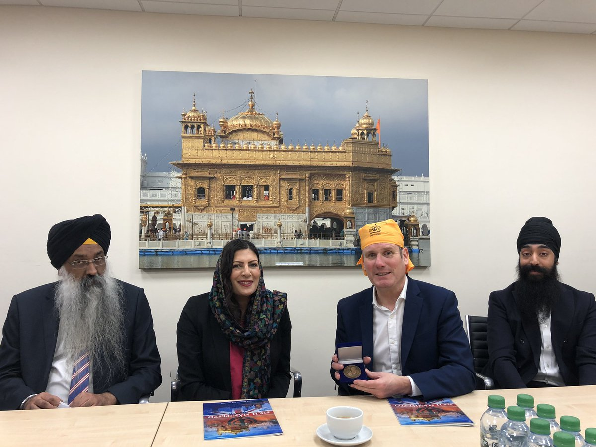 test Twitter Media - Great to meet and talk to @Keir_Starmer about the work of @TheSikhNet and issues raised in the #SikhManifesto and #UKSIkhSurvey. Thanks to @GNGSmethwick and @PreetKGillMP. Greater representation at all levels is key or equality & inclusion https://t.co/za5TXQJRP6