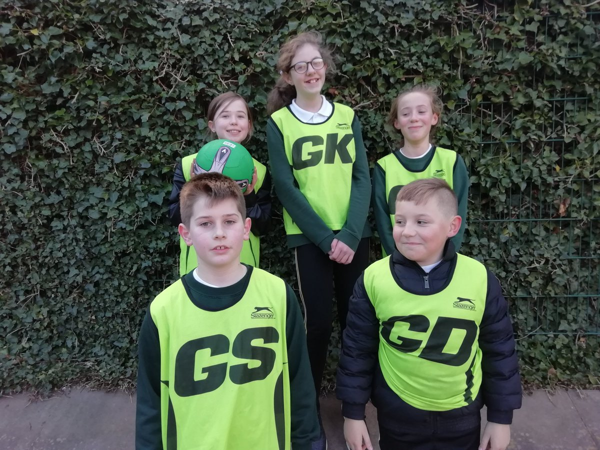 test Twitter Media - y56 Netball win their second game of the year 4-2 Vs St Martin de Porres. Well done. Everyone https://t.co/aaI18HVPR9