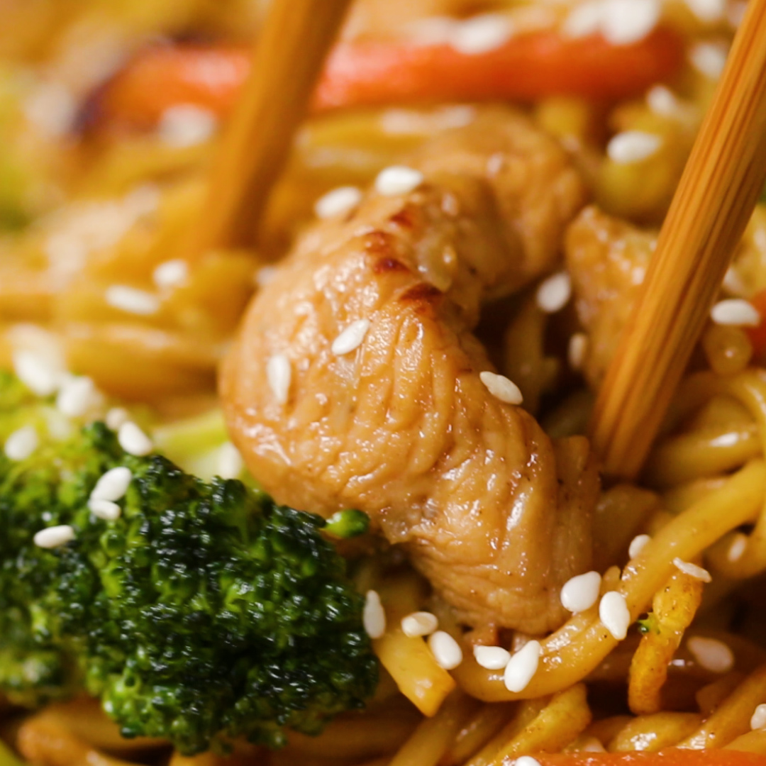 Chow Mein 4 Ways Shop this recipe in our Tasty iOS app: