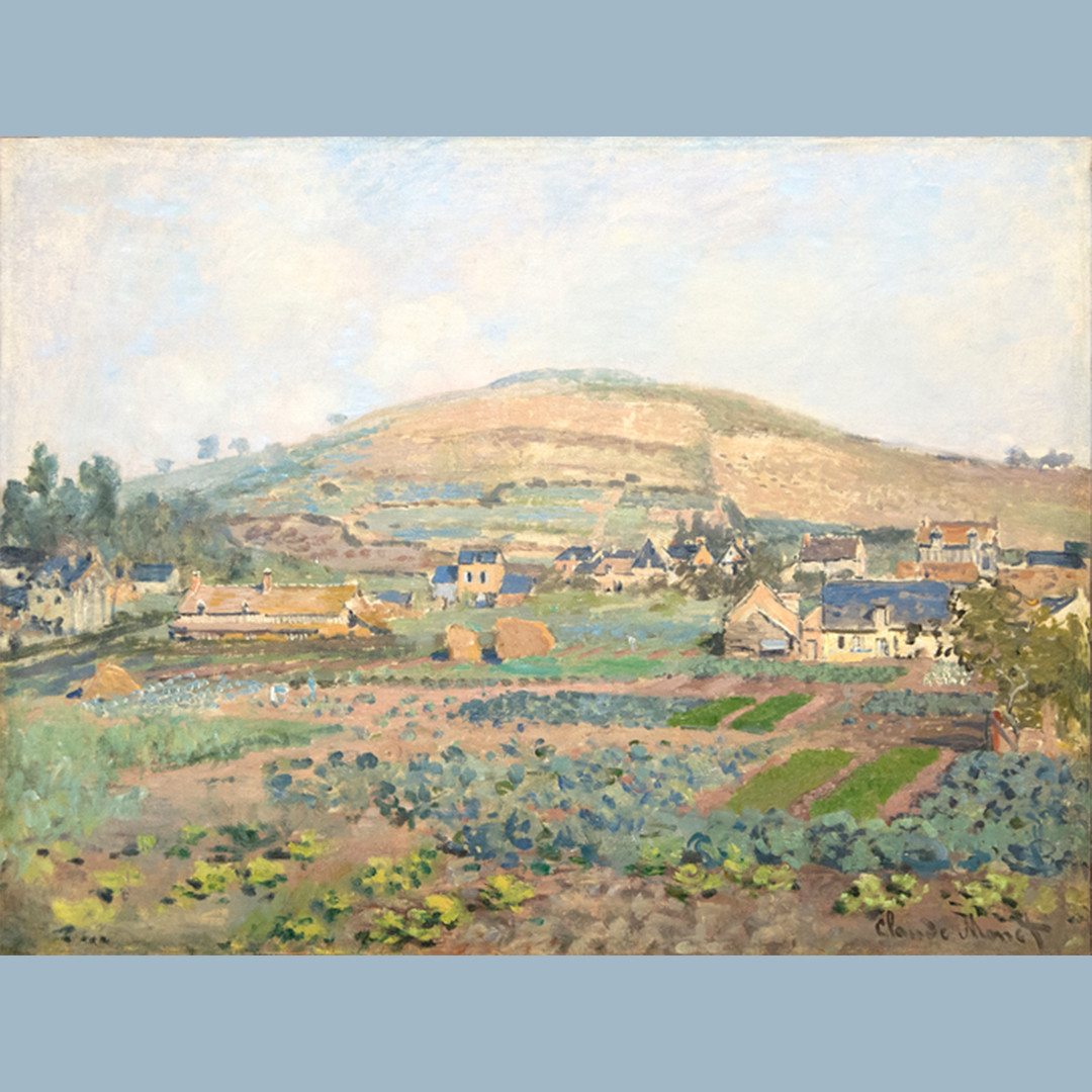 "Kick off #MonetMonday with Monet's ""Le Mont Riboudet a Rouen au Printemps"". Monet's careful brushstrokes of the field...   #heatherjamesfineart #monet #claudemonet #impressionism #modernart #artexhibition #palmsprings #palmdesert  #visitfromhome #artcanhelp"